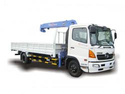 Thông số kỹ thuật xe tải Hino 8 tấn gắn cẩu Unic