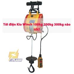Các sản phẩm máy tời điện Kio Winch 300kg mà có thể bạn quan tâm