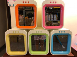 Thanh lý máy tiệt trùng sấy khô bằng tia UV Upang Hàn Quốc Seoul Shop