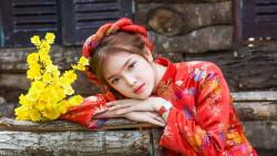 Mùa xuân làng lúa làng hoa – Hoa xuân Đà lạt