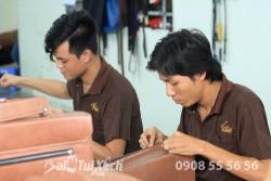 Báo Doanh nhân Sài Gòn đưa tin về BaloTuiXach: Balotuixach tiên phong gia công các sản phẩm da tại Việt Nam