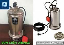 Máy bơm chìm hút nước thải nào phù hợp công trình xử lý nước dân dụng