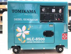 Giới thiệu máy phát điện chMạy dầu Tomikama HLC 8500