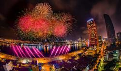 Lịch trình bắn pháo hoa Quốc Tế Đà Nẵng 2019