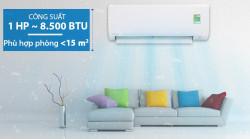 Bán & lắp đặt máy lạnh treo tường Daikin FTC25NVMV model 2018 mặt nạ phẳng thời trang