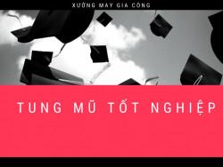 Ý nghĩa của hành động tung nón tốt nghiệp khi ra trường