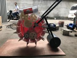 Giới thiệu khoảng cách máy gieo hạt giống đa năng Vinafam VNGH-989