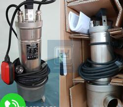 Máy bơm chìm nước thải INOX công suất 1.36 HP cho môi trường axit loãng