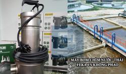 Mua máy bơm chìm hút nước thải cần xác định qua yếu tố nào?