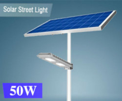 Đèn đường năng lượng mặt trời STU-50W