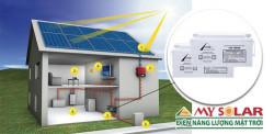 Tại sao phải sử dụng ắc quy cho hệ thống điện mặt trời?