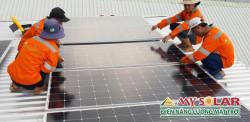 Những lưu ý khi tiến hành lắp pin năng lượng mặt trời