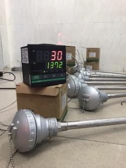 Cáchđấu dây cảm biếnđo nhiệt độ dạng củ hành PT100 ( K )