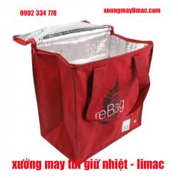Xưởng may túi giữ nhiệt trực tiếp cho các khách hàng, cho ra sản phẩm rẻ và chất lượng nhất