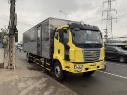 Xe tải Faw 7 tấn thùng siêu dài chở pallet