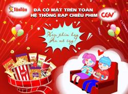 Tháng 11/2019: Tân Tân đã có mặt trên toàn hệ thống rạp chiếu phim CGV