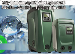 Máy bơm tăng áp biến tần Esybox Mini DAB thông minh kết nốiBluetooth