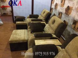 Ghế massage chân thiết kế hiện đại, tinh tế -  dễ phối bài trí không gian căn phòng