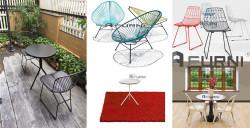 Bộ bàn ghế ngoài trời cao cấp để sân vườn ban công sân thượng đẹp HCM