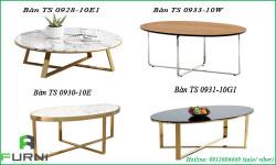 Mẫu bàn trà, bàn sofa đẹp và hiện đại