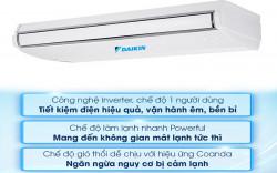 Bảng giá Máy lạnh áp trần Daikin Inverter giá rẻ- 2hp-3hp- Proshop Daikin Đại Đông Dương
