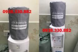 May áo trùm bình nước nóng lạnh 21l cho các showroom toyota