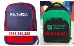 Xưởng sản xuất balo quảng cáo, balo dược phẩm, balo quà tặng cho công ty dược phẩm - xưởng nhận may & in ấn nội dung lên balo dược phẩm giá gốc