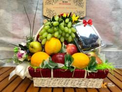 Giỏ trái cây tặng khai trương hồng phát