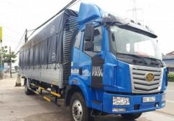 Hình ảnh xe tải Faw 7 tấn 8 (7t8) thùng siêu dài 9m8