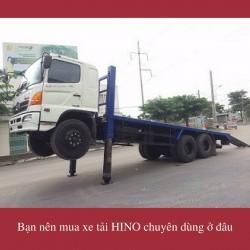 Bạn nên mua xe tải HINO chuyên dùng ở đâu