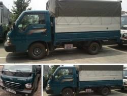 Giá Xe tải KIA Thaco Frontier 125 thùng mui bạttải trọng1 tấn 25