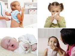 Mẹo giúp trẻ hết ho, sổ mũi khi trời lạnh