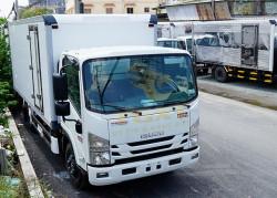 Xe tải Isuzu 3T5 thùng đông lạnh, hỗ trợ trả góp lên đến 90%
