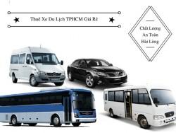 Kinh nghiệm thuê xe du lịch TPHCM giá rẻ