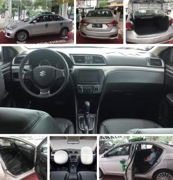 Người dùng đánh giá về dòng xe Suzuki Ciaz