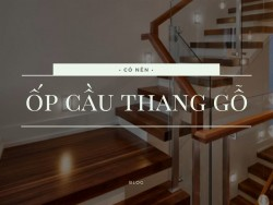 Có nên ốp cầu thang bằng gỗ công nghiệp?