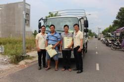 Thaco Trường Hải tổ chức sự kiện trưng bày Thaco Ollin 360 tại Long An