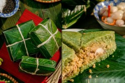 Bánh chưng Bà Kiều – Thêm một thương hiệu bánh chưng từ Điện Biên