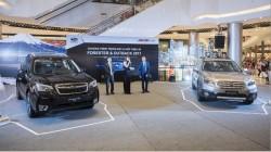 Subaru ra mắt Outback và Forester phiên bản 2017 tại Việt Nam