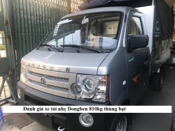 Đánh giá xe tải nhẹ Dongben 870kg thùng bạt