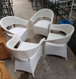 Những ưu điểm nổi bật của bàn ghế nhựa giả mây là gì?