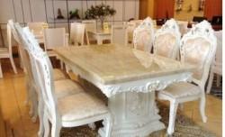 Các mẫu bàn ăn cổ điển Châu Âu thời thượng và đẳng cấp