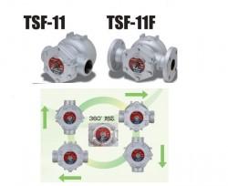 Nguyên lý vận hành và cách hoạt động của bẫy hơi phao yoshitake TSF-11F