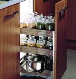 Inox 304 chất liệu hoàn hảo của phụ kiện tủ bếp