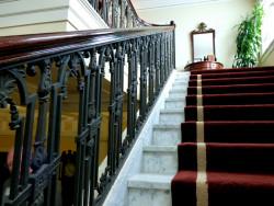 Vẻ đẹp của cầu thang sắt mỹ thuật