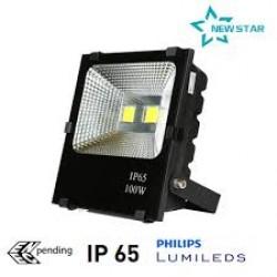 Đèn pha led 100w chiếu sáng công trình đảm bảo chất lượng