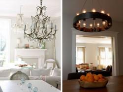 Top 5 mẫu thiết kế đèn chùm phong cách
