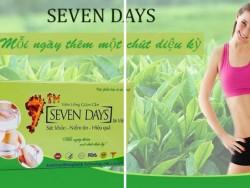 Những công dụng tuyệt vời từ viên uống giảm cân Seven Days