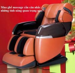 Mua ghế massage cần cân nhắc những tính năng quan trọng nào?