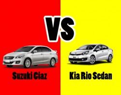 So sánh 2 dòng xe sedan hạng B: Suzuki Ciaz và Kia Rio Sedan